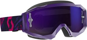 Gogle Scott Hustle MX Purple chrome
