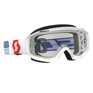 Gogle Scott Hustle MX White
