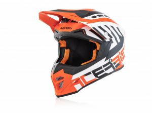 Kask Acerbis Profile 4 white/orange rozm. XS  53/54
