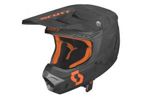Kask Scott 350 EVO TEAM black Orange rozm.M