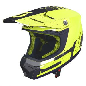 Kask Scott 350 EVO TEAM Yellow/deep Blue