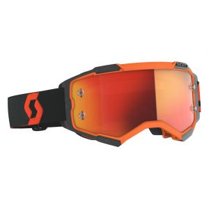 gogle Scott Fury Orange Black/ szyba orange chrome +dodatkowa szyba clear